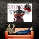 The Expendables 2 Sylvester Stallone Art Huge 47x35 Print Poster
