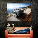 Iveco Stralis Heavy Duty Truck Car Huge 47x35 Print Poster
