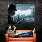 Sherlock Holmes Game Of Shadows Jude Law Huge 47x35 Print Poster