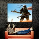 Post Apocalyptic Warrior Art Huge 47x35 Print Poster