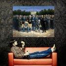 USA Presidents America Painting Art Huge 47x35 Print Poster