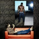 Nelly Shirtless R B Hip Hop Music Huge 47x35 Print Poster