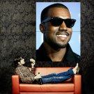 Kanye West Rap Hip Hop Singer Music Huge 47x35 Print Poster