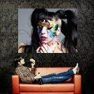 Lady Gaga Singer Music Huge 47x35 Print Poster