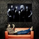 Gravedigger Heavy Metal Band Rock Music Huge 47x35 Print Poster