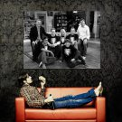 The Big Bang Theory TV Series Characters Huge 47x35 Print Poster