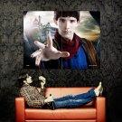 Merlin Colin Morgan TV Series Huge 47x35 Print Poster