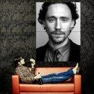 Tom Hiddleston BW Portrait Movie Actor Huge 47x35 Print Poster