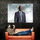 Fringe Lance Reddick Agent Phillip Broyles Huge 47x35 Print Poster