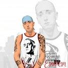 Eminem Vector Art Rap Hip Hop Music 32x24 Print POSTER