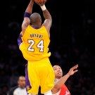 Kobe Bryant Fadeaway Jump Shot NBA 32x24 Print POSTER