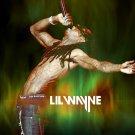 Lil Wayne Hip Hop Music Bw 32x24 Print Poster