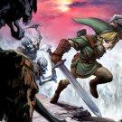 The Legend Of Zelda Ocarina Of Time Art 32x24 Print POSTER