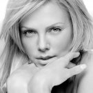 Charlize Theron Hot BW Portrait Actress Movie 32x24 Print POSTER