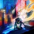 Ghost In The Shell Motoko Kusanagi Anime Art 32x24 Print POSTER