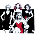 Desperate Housewives Drawing Art TV Series 32x24 Print POSTER