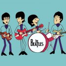 The Beatles Music Cool Funny Art 32x24 Print POSTER