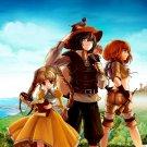 Mabinogi Characters Anime Art 32x24 Print POSTER
