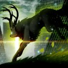 Romantically Apocalyptic Deer Nuclear Art 32x24 Print POSTER