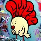 Funky Chicken Cool Graffiti Street Art 32x24 Print POSTER