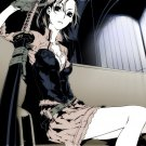 Katana Girl Anime Manga Art 32x24 Print POSTER
