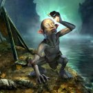 Gollum CG Art The Lord Of The Rings Movie 32x24 Print POSTER