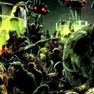 Zombies Cyberpunk Blood Comics Art 32x24 Print POSTER