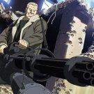 Ghost In The Shell Batou Minigun Anime Manga 32x24 Print POSTER