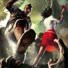 Dead Island Massacre Zombies Fire Axe Art Video Game 32x24 Print POSTER