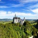 Neuschwanstein Castle Bavaria Germany Nature 32x24 Print POSTER