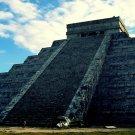 Chichen Itza Maya Pyramid Mexico Nature Landscape 32x24 Print POSTER