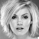 Elisha Cuthbert Hot BW Portrait Actress 32x24 Print POSTER