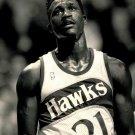 Dominique Wilkins Atlanta Hawks BW NBA Basketball 32x24 POSTER