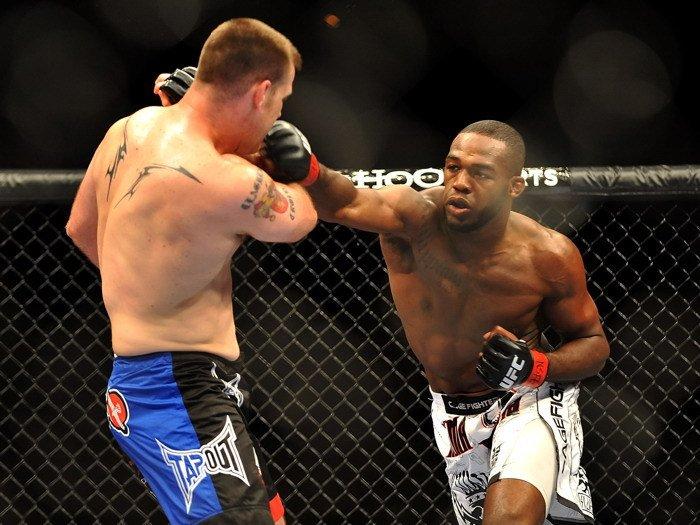 Jon Jones Bones Punch MMA Mixed Martial Arts 32x24 POSTER