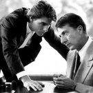 Dustin Hoffman Rain Man Movie Legendary Actor Tom Cruise BW 32x24 POSTER