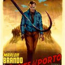 Marlon Brando On The Waterfront Legendary Actor Vintage 32x24 POSTER