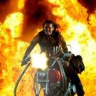 Machete Cortez Bike Machine Gun Fire Danny Trejo Movie 32x24 POSTER