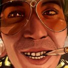 Fear And Loathing In Las Vegas Close Face Art 32x24 POSTER