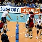 Tom Hoff USA Volleyball Men Sport 32x24 Print POSTER