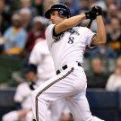 Ryan Braun Bat Baseball MLB Sport 32x24 Print POSTER