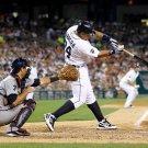 Miguel Cabrera Hitting Baseball MLB 32x24 Print POSTER