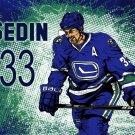Henrik Sedin Vancouver Canucks Art NHL 32x24 Print POSTER