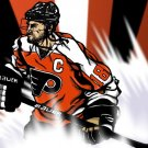 Mike Richards Philadelphia Flyers Art 32x24 Print POSTER