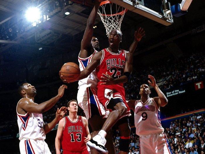 Michael Jordan Amazing Chicago Bulls NBA 32x24 Print POSTER