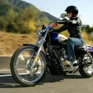 Harley Davidson XL 1200C Sportster Chopper 32x24 Print POSTER