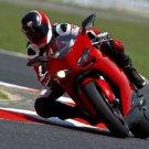 Ducati 848 EVO Red Super Sport Bike 32x24 Print POSTER