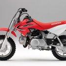 Honda CRF 50F Motocross Bike 32x24 Print POSTER