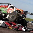 Ford Red Dragon Ride Monster Truck 32x24 Print POSTER