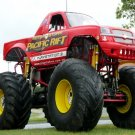 Pacific Rift Chevy Monster Truck Bigfoot 32x24 Print POSTER