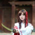 Hot Japanese Samurai Girl Katana 32x24 Print POSTER
